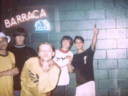 Concierto de The Stone Roses en Barraca, 1989.