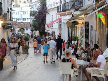 La llegada de turistas extranjeros a España registra en julio una caída del 4,9%, la mayor bajada desde abril de 2010