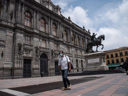 El Museo Nacional de Arte (Munal), en el centro de la capital mexicana.