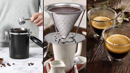 Seleccionamos una gran variedad de regalos para los más cafeteros y los amantes del café.