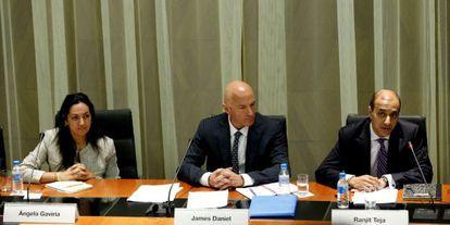Expertos del FMI, en su última visita a España.