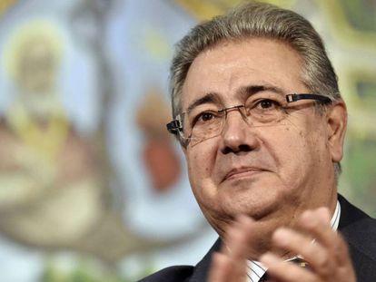 El ministro del Interior, Juan Ignacio Zoido, en una imagen de archivo.