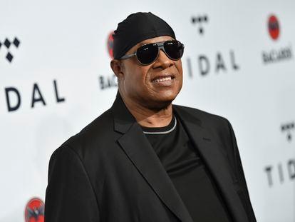 Una imagen de Stevie Wonder en 2017.