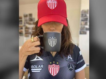 Eva Longoria anuncia su unión al grupo propietario del Club Necaxa a través de Instagram.