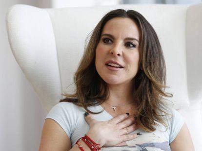 Kate del Castillo, el pasado enero.