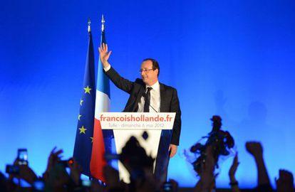 El presidente electo de Francia, François Hollande.