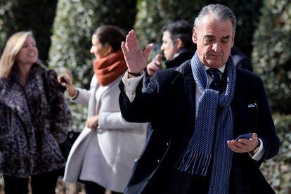 El exbanquero Mario Conde, en enero de 2017.