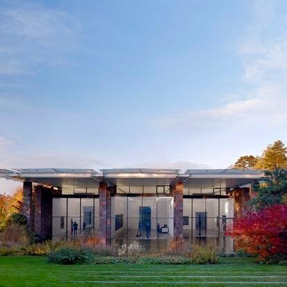 La Fundación de Beyeler, obra de Renzo Piano.