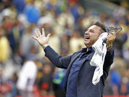 Antonio Mohamed, tras ganar la Liga mexicana.