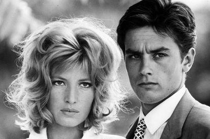 Monica Vitti y Alain Delon en 'El eclipse' (1962)