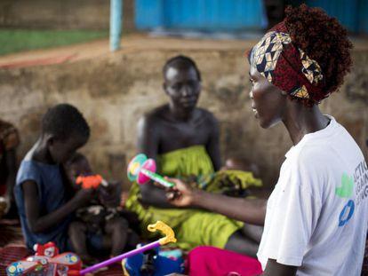 Imagen tomada en Gambella, Etiopía, país donde Acción contra el Hambre trabaja desde 1985 con un equipo de 620 personas.