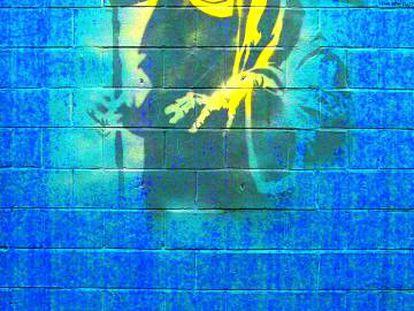 Grafiti del británico Bansky.