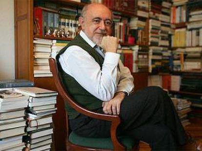 El escritor, filólogo y crítico Carlos García Gual.