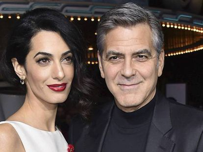 George y Amal Clooney, en una imagen de archivo.
