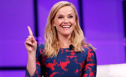 Reese Witherspoon en una convención sobre mujeres celebrada en San José, California (EE UU) en febrero de 2018.