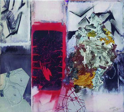 'Beli', 1996. Técnica mixta sobre lienzo.  