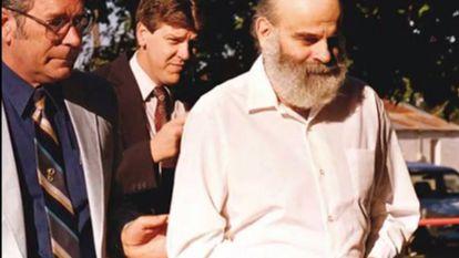 Ronald Gene Simmons, en el momento de su detención.