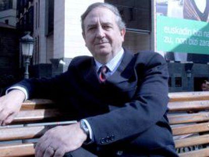 Iñaki Anasagasti, candidato del PNV al Senado.