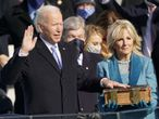 January 20, 2021 - Washington, DC, United States: United States President Joe Biden takes the Oath of Office as the 46th President of the US at the US Capitol in Washington, DC on Wednesday, January 20, 2021. (Chris Kleponis / CNP / Polaris) Europa Press 20/01/2021