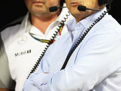 Ron Dennis, en Bahréin.
