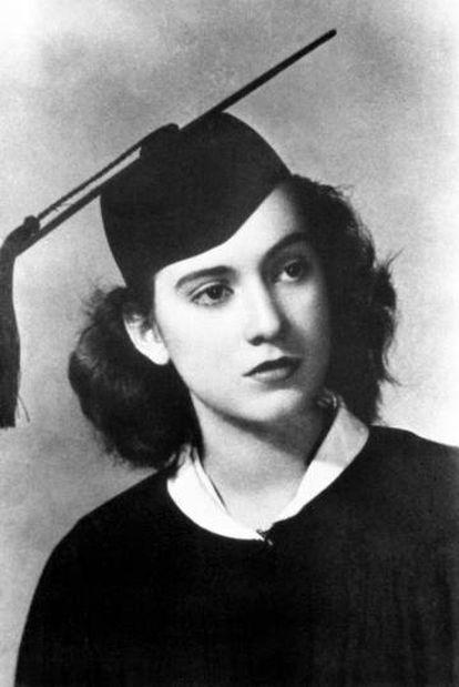 La estudiante Inés Arredondo.