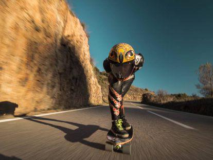 El descenso es una de las disciplinas más espectaculares de los World Roller Games.