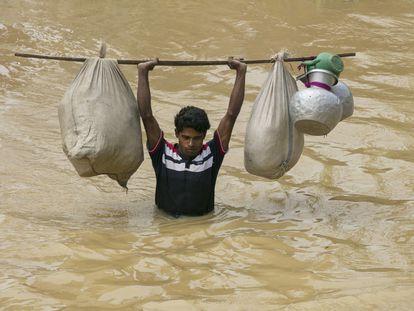 Un refugiado rohinyá en Cox's Bazar, una zona expuesta a desastres naturales en la que se asienta está minoría perseguida en Myanmar.