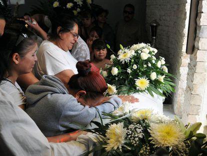 Funeral del niño asesinado en Chihuahua