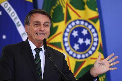 El presidente de Brasil, Jair Bolsonaro, en una imagen del pasado 9 de febrero.