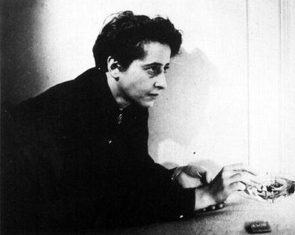 La filósofa Hannah Arendt.