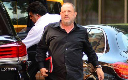 El productor de cine Harvey Weinstein