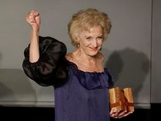 Marisa Paredes en la gala de los premios Icon en 2019.
