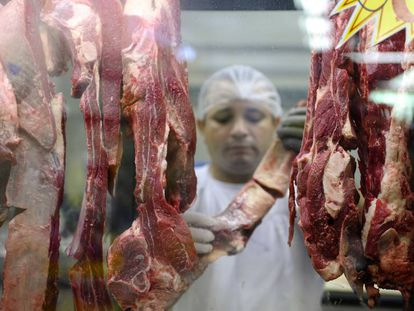 Carnicería en Brasilia.