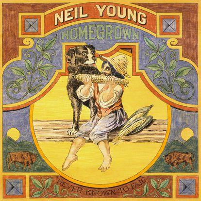 Disco 'Homegrown' de Neil Young.