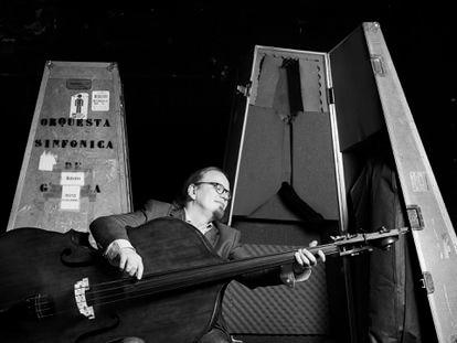 Risto Vuolanne, en una foto de la Orquesta Sinfónica de Galicia.