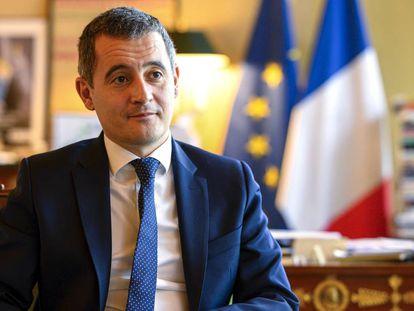 Gerald Darmanin, ministro francés de Presupuesto, este martes en París