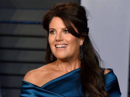 Monica Lewinsky en la fiesta de los Oscar organizada por Vanity Fair en marzo de 2019.