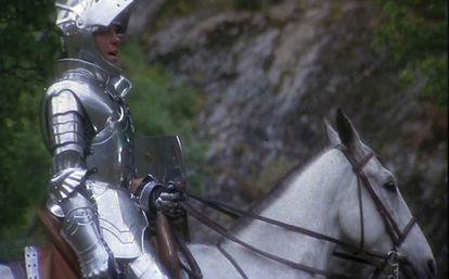 Nicholas Clay como Lancelot en 'Excalibur'.