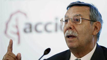 El presidente de Red Eléctrica de España, José Folgado.