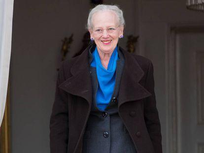 Margarita de Dinamarca el 16 de abril del año pasado, día en el que cumplió 79 años.