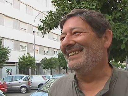 """Javier Guerrero, abordado por los periodistas en su primer día libre otra vez, se ha declarado """"feliz"""". """"Yo nunca he cogido dinero de nadie. No soy un hombre ambicioso"""", ha declarado"""
