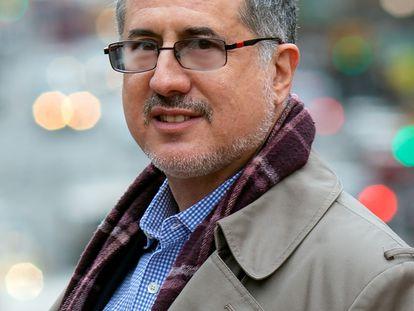 El periodista Barton Gellman, uno de los receptores de los documentos filtrados por Edward Snowden en 2013.