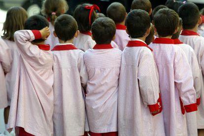 El trasvase de alumnos de la privada a la pública se nota sobre todo en educación infantil