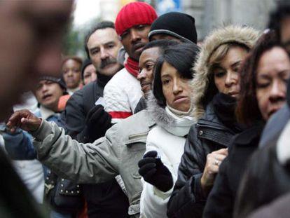 """Los inmigrantes son """"una minoría selecta"""" de sus países. Suelen ser jóvenes con ganas de trabajar y espíritu emprendedor."""