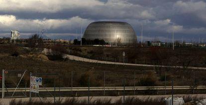 Los terrenos de la denominada Ciudad de la Justicia, en Madrid.