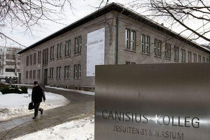 El colegio de los jesuitas Canisius, en Berlín, en el que se han documentado abusos.