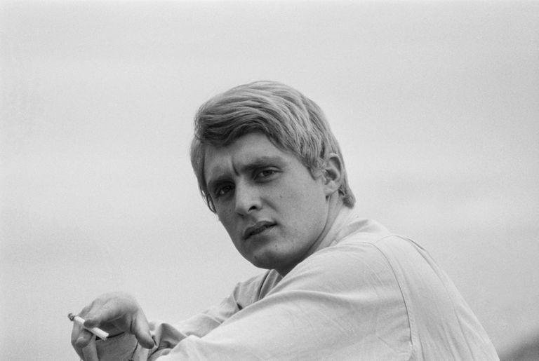 Christophe, en una imagen tomada en París en 1963.