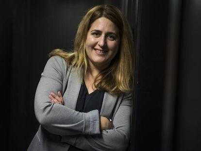 Marta Pascal, la semana pasada en Barcelona.