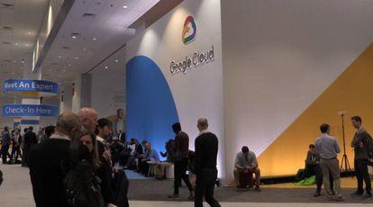 Asistentes a la conferencia de Google Cloud en San Francisco.