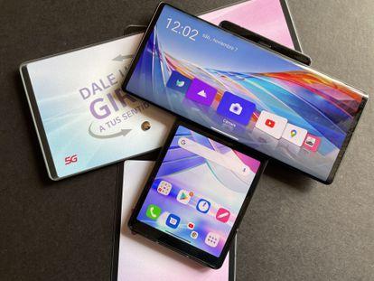 EL PAÍS ha probado durante unos días el smartphone desplegable LG Wing